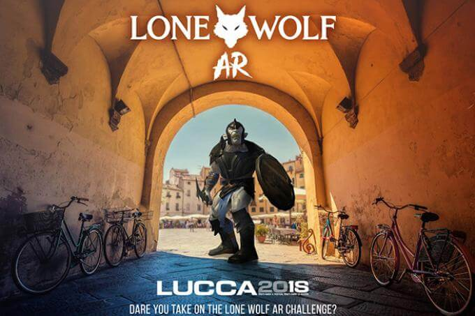 Lone Wolf AR a Lucca Comics & Games