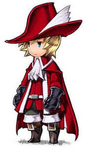 Un mago rosso da Final Fantasy III